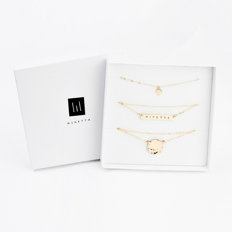 coordinates bar necklace vertical bar necklace personalised
