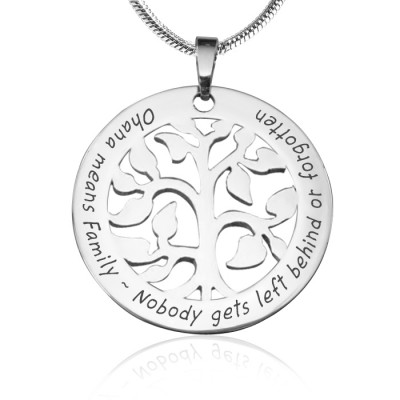 Personalised Ohana Tree - Silver *Limited Edition - The Handmade ™