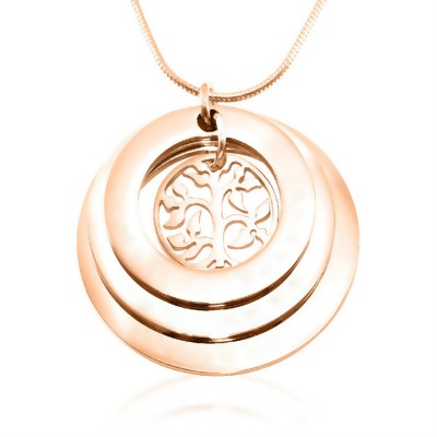 Personalised Family Triple Love - Rose Gold - The Handmade ™