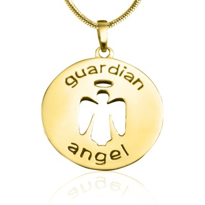 Guardian Angel Necklace 1 - Gold - The Handmade ™