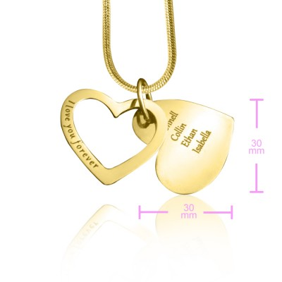 Love Forever Necklace - Gold - The Handmade ™