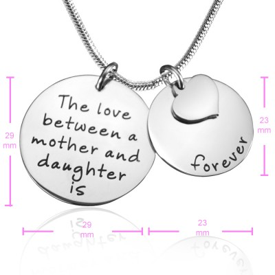 Mother Forever Necklace - Silver - The Handmade ™
