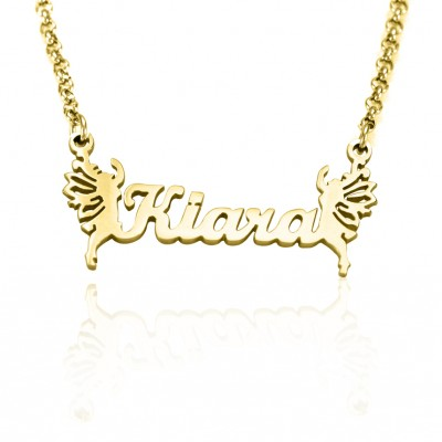 Name Necklace - Gold - The Handmade ™