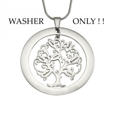 Personalised ADDITIONAL Tree of My Life WASHER ONLY - The Handmade ™