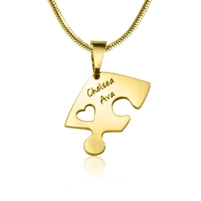 Triple Heart Puzzle - Three Necklaces - The Handmade ™