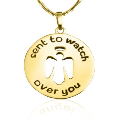 Guardian Angel Necklace 2 - Gold - The Handmade ™