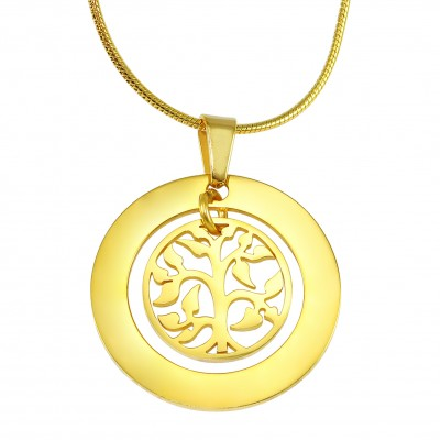 Family Tree Necklace - Gold - The Handmade ™