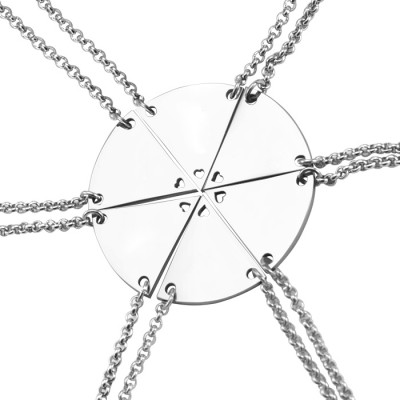 Meet at the Heart Hexa - Six Necklaces - The Handmade ™