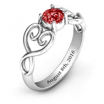 Always In My Heart Promise Ring - The Handmade ™