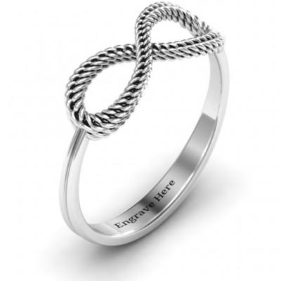 Braided Infinity Ring - The Handmade ™