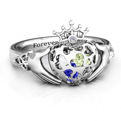 Caged Hearts Claddagh Ring - The Handmade ™