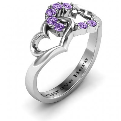 Connecting Hearts Ring - The Handmade ™