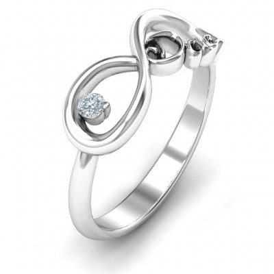 Dad Infinity Ring - The Handmade ™