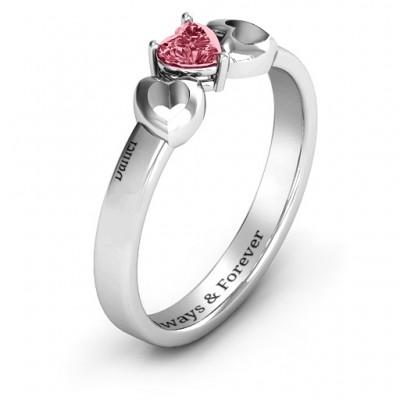 Darling Heart Wraparound Ring - The Handmade ™