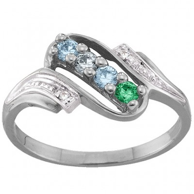Diamond Accent 2-6 Stones Ring - The Handmade ™
