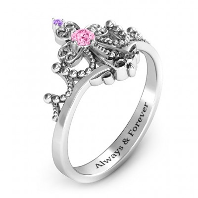 Forever And Always Tiara Ring - The Handmade ™