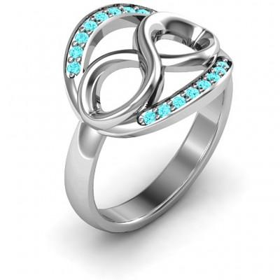 Karma of Love Infinity Ring - The Handmade ™