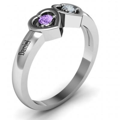 Kissing Hearts Ring - The Handmade ™
