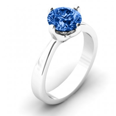 Large Stone Solitaire Ring - The Handmade ™