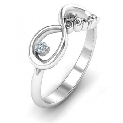 Peace Infinity Ring - The Handmade ™