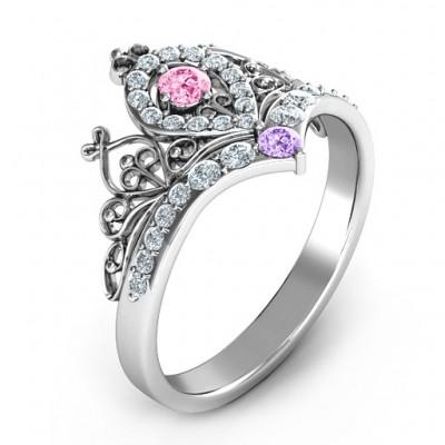 Queen Of My Heart Tiara Ring - The Handmade ™