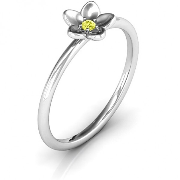 Stackr 'Azelie' Flower Ring - The Handmade ™