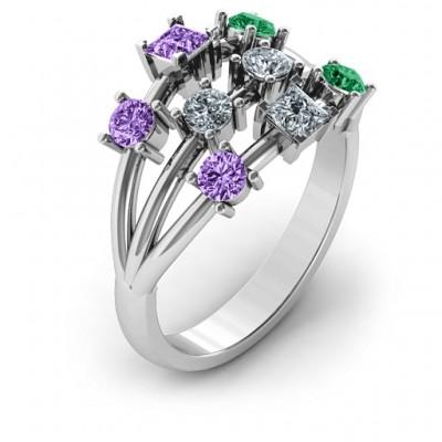 Silver Cosmic Energy Ring - The Handmade ™