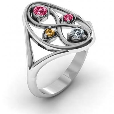 Silver Forever Love Ring - The Handmade ™