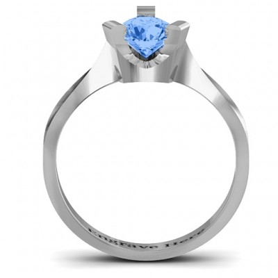 Silver Beloved Tri-Set Ring - The Handmade ™