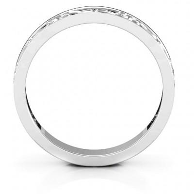 Silver Filigree Band Ring - The Handmade ™