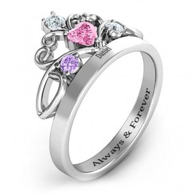 Tale Of True Love Tiara ring - The Handmade ™