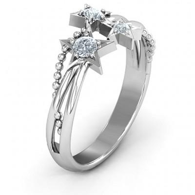 Twinkling Starlight Ring - The Handmade ™
