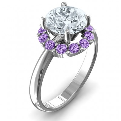Victoria Single Halo Ring - The Handmade ™