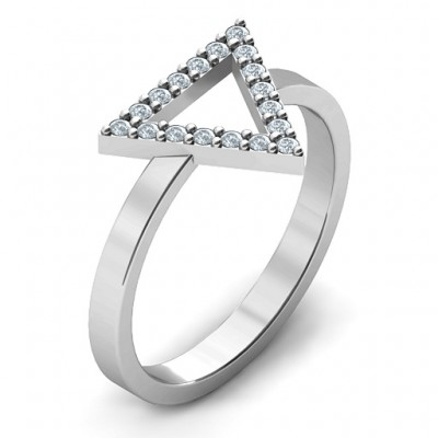 Your Best Triangle with Accents Ring - The Handmade ™