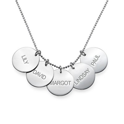 Multi Disc Necklace - The Handmade ™