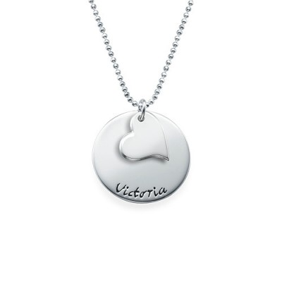 Mother Daughter Gift - Set of Three Engraved Necklaces - The Handmade ™