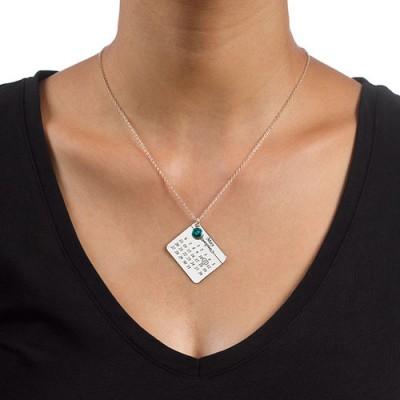 My Birthday Necklace - The Handmade ™
