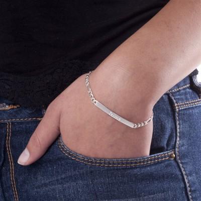 Women's ID Name Bracelet - The Handmade ™