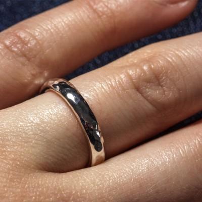 Silver Halo Wedding Band - The Handmade ™
