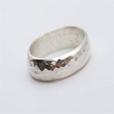 Mens Personalised Gunwalloe Ring - The Handmade ™