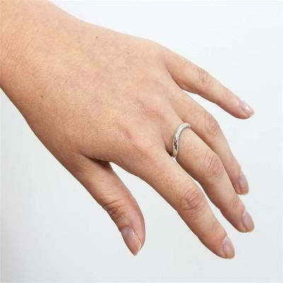 Silver Infinity Wedding Ring - The Handmade ™