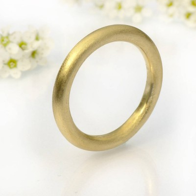 Mens Halo Wedding Ring, Gold - The Handmade ™