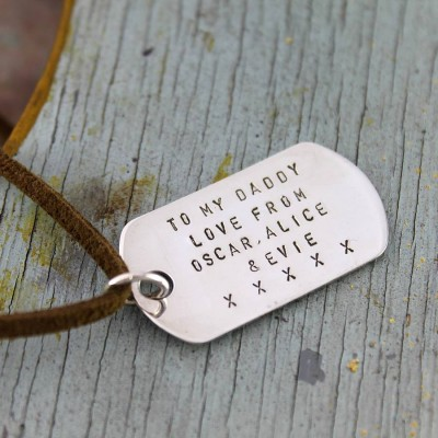 Dog Tag Necklace - The Handmade ™