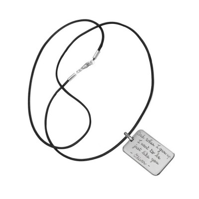 Mens Dog Tag Necklace - The Handmade ™