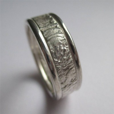 Rocky Outcrop Ring With Polished Edges - The Handmade ™