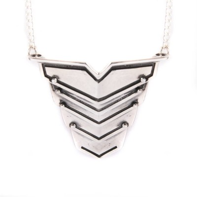 Romeo Necklace Oxydised Silver - The Handmade ™
