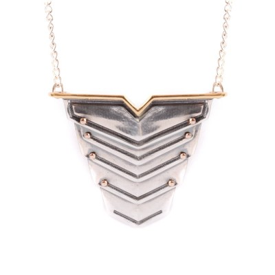 Romeo Necklace Rose Gold Vermeil And Silver - The Handmade ™