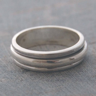 Silver Spin Ring - The Handmade ™