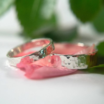 Wedding Bands In Silver - The Handmade ™